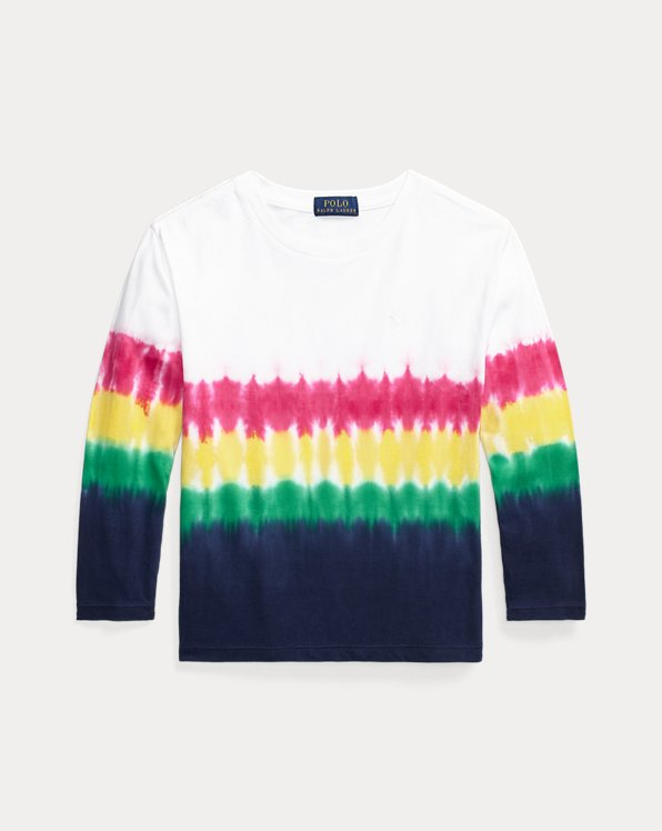 Tie-Dye Long-Sleeve Tee