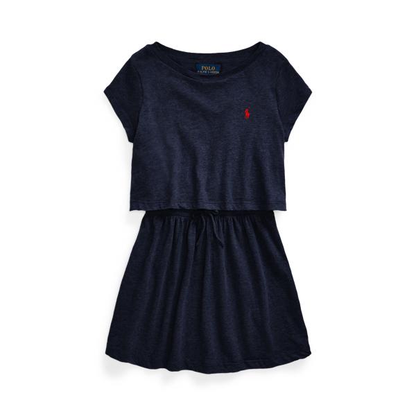 Polo Ralph Lauren COTTON JERSEY TEE DRESS