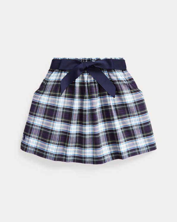 Tartan Plaid Oxford Skirt