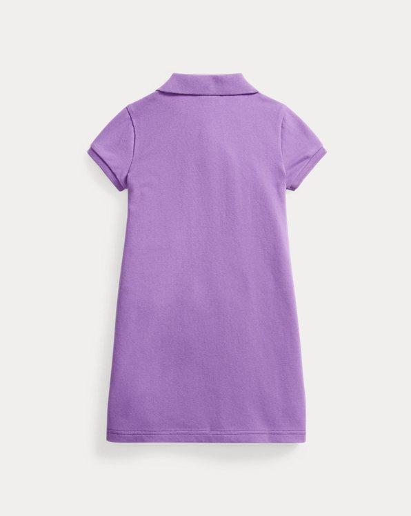 Polo Bear Mesh Polo Dress