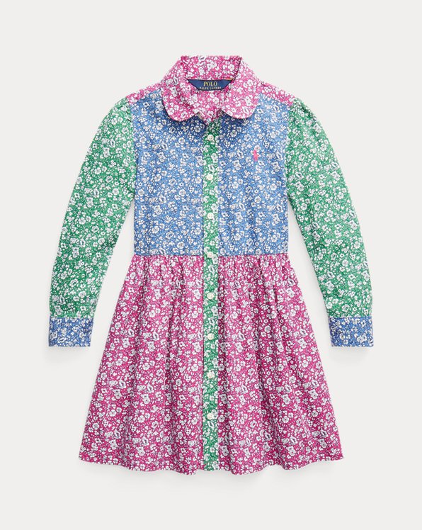 Fun Cotton Shirtdress