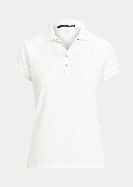 Polo RalphLauren Eyelet Short-Sleeve Golf Polo Shirt