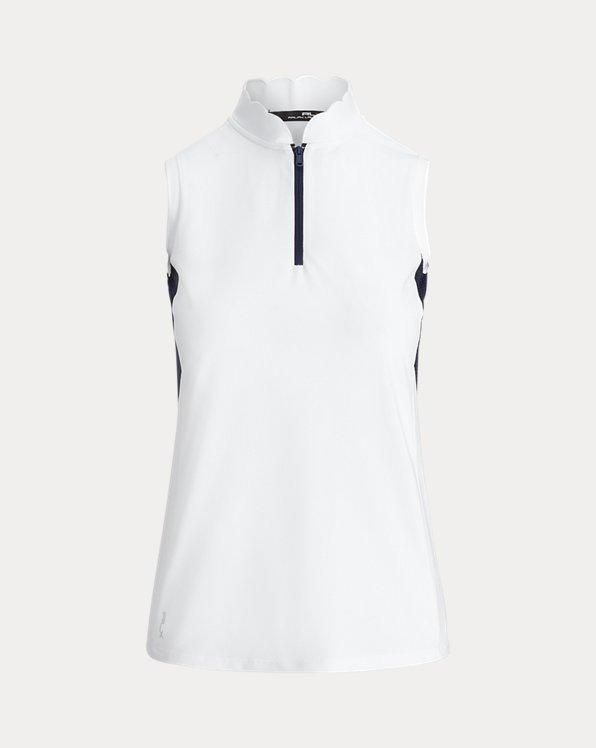 Sleeveless Golf Quarter-Zip