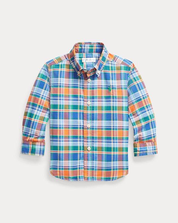 Plaid Performance Poplin Shirt