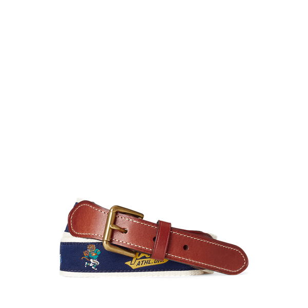 Football Cotton-Leather Belt
