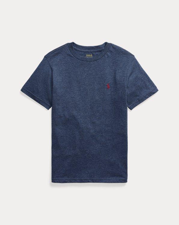 T-shirt col rond jersey de coton