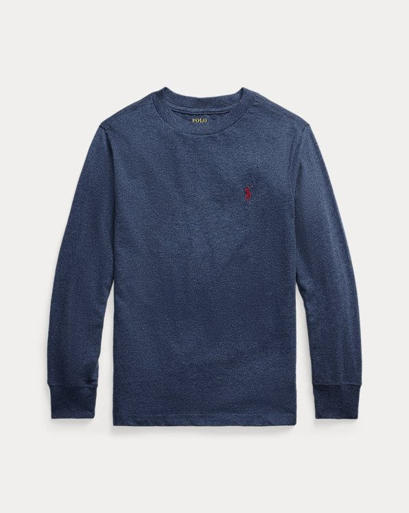 Cotton Jersey Long-Sleeve Tee