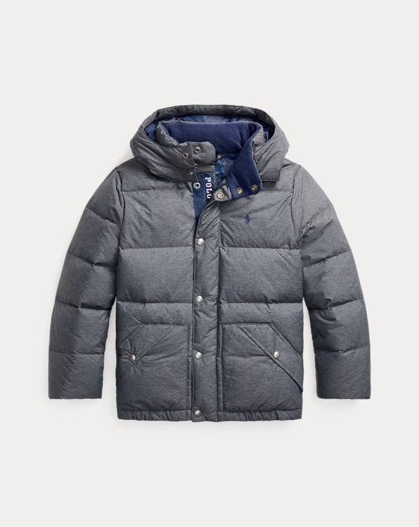 Water-Resistant Down Jacket