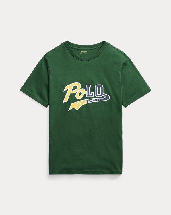 T-shirt en jersey de coton à logo