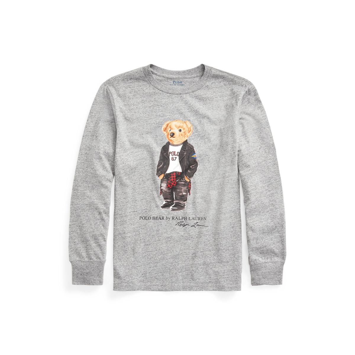 Polo Bear Cotton Jersey Tee