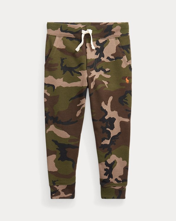 Camo Fleece Jogger Trouser