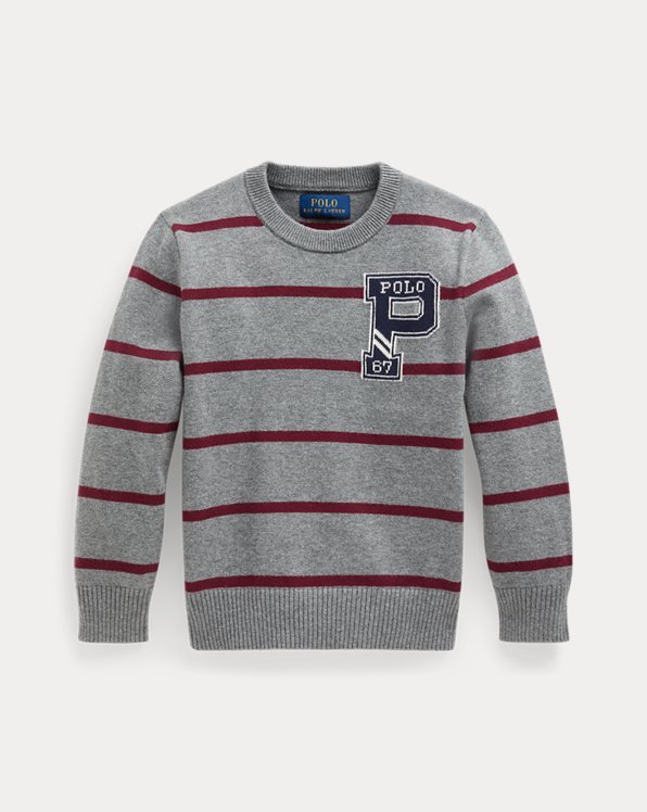 Striped Cotton Jumper