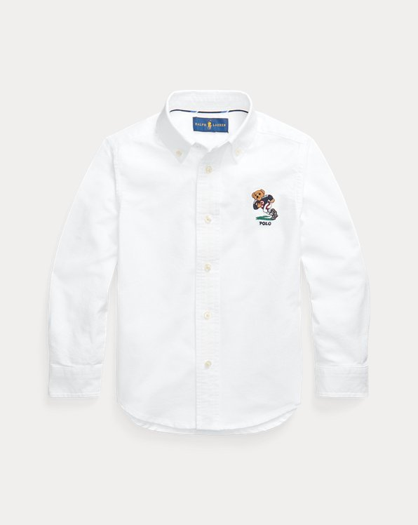 Chemise Football Bear en coton