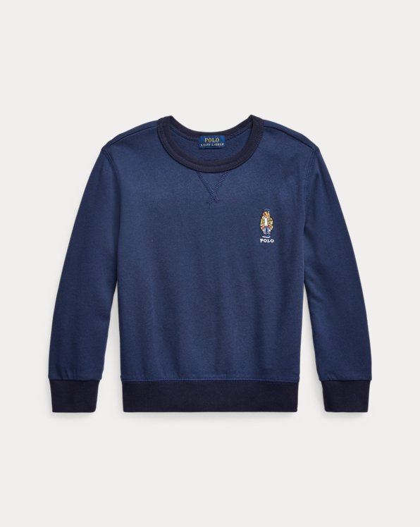Polo Bear Spa Terry Sweatshirt
