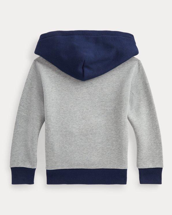 Polo Bear Cotton-Blend-Fleece Hoodie