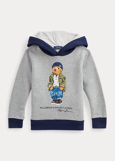 Polo Ralph Lauren Polo Bear Cotton Blend Fleece Hoodie