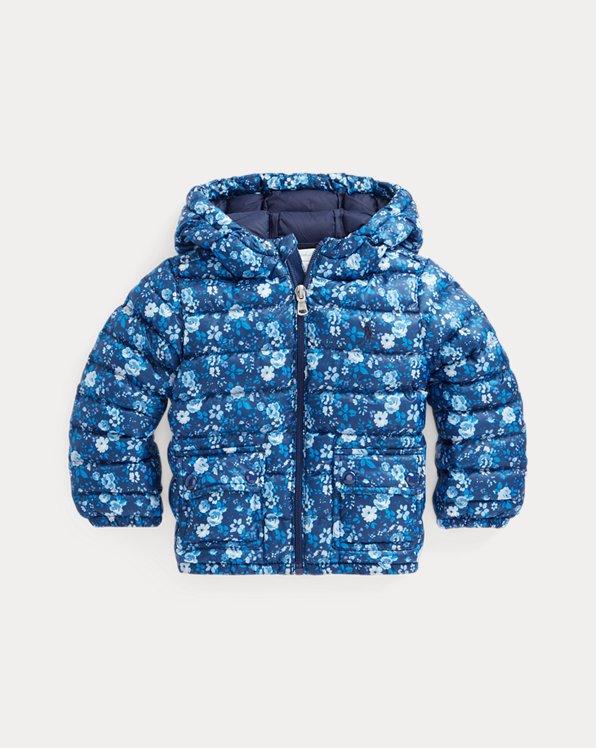 Water-Resistant Floral Jacket