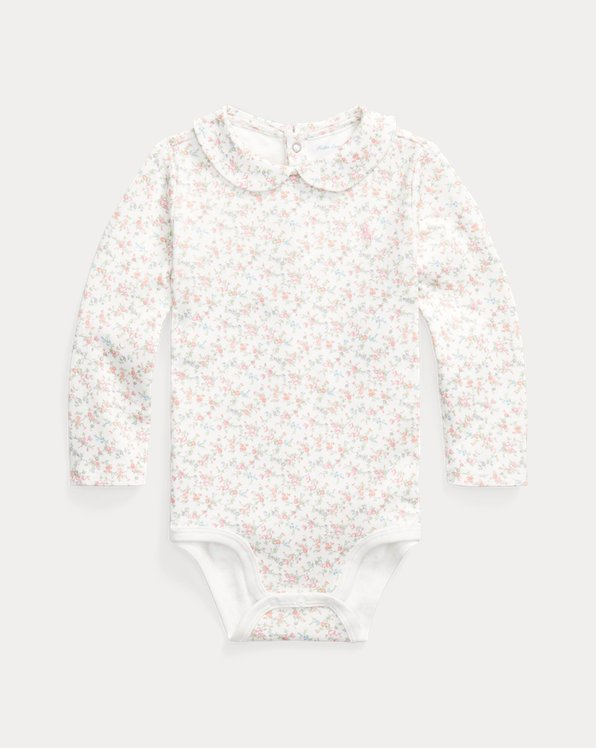 Floral Interlock Bodysuit