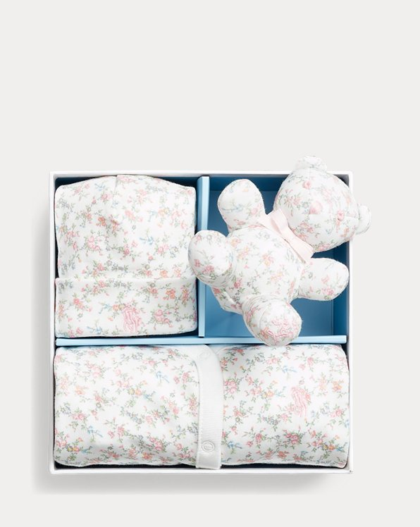 Floral Interlock Gift Set