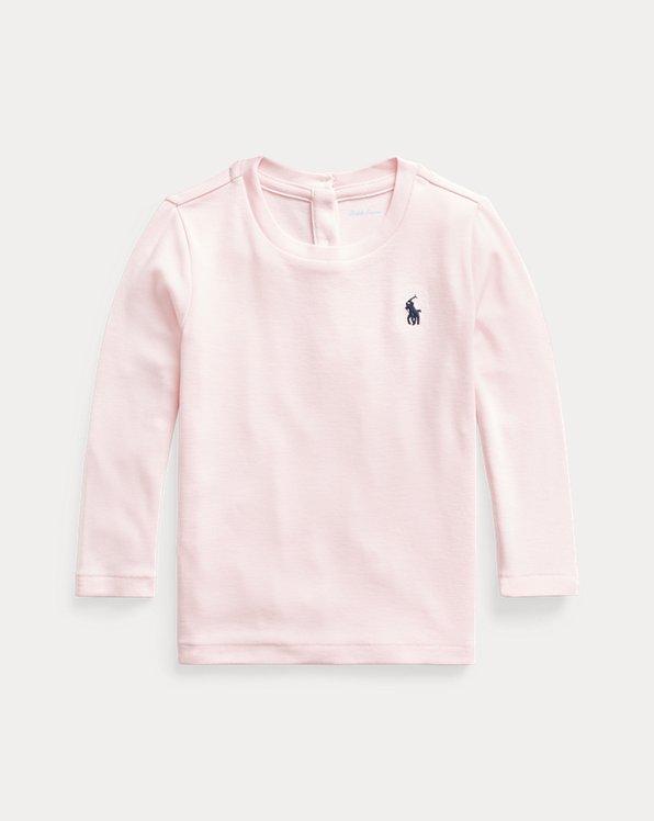 T-shirt manches longues coton/modal