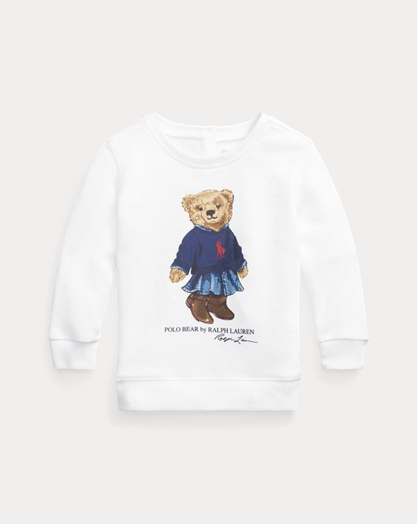 Sweat en éponge Polo Bear