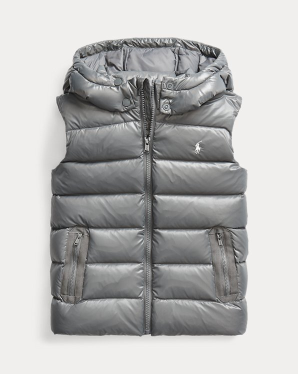 Water-Repellent Down Gilet