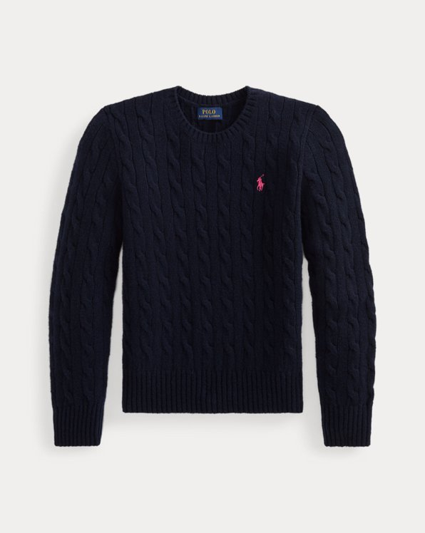 Cable-Knit Wool-Cashmere Jumper