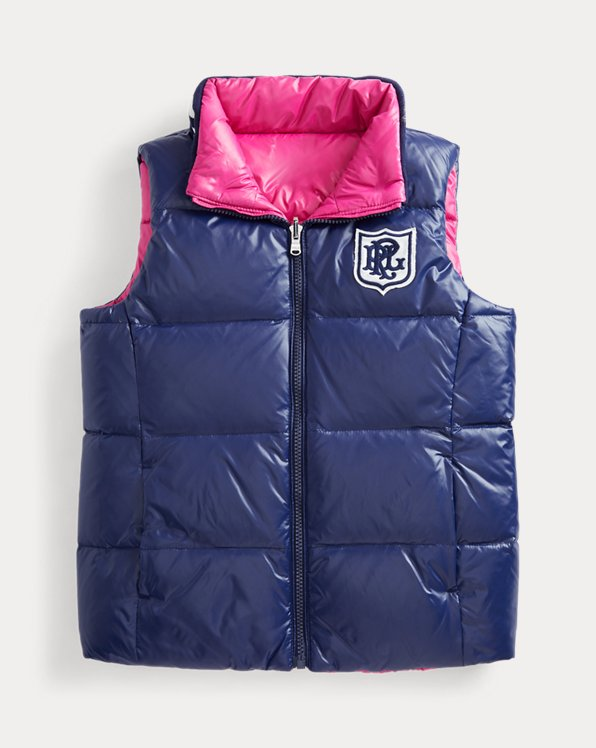 Water-Repellent Reversible Gilet