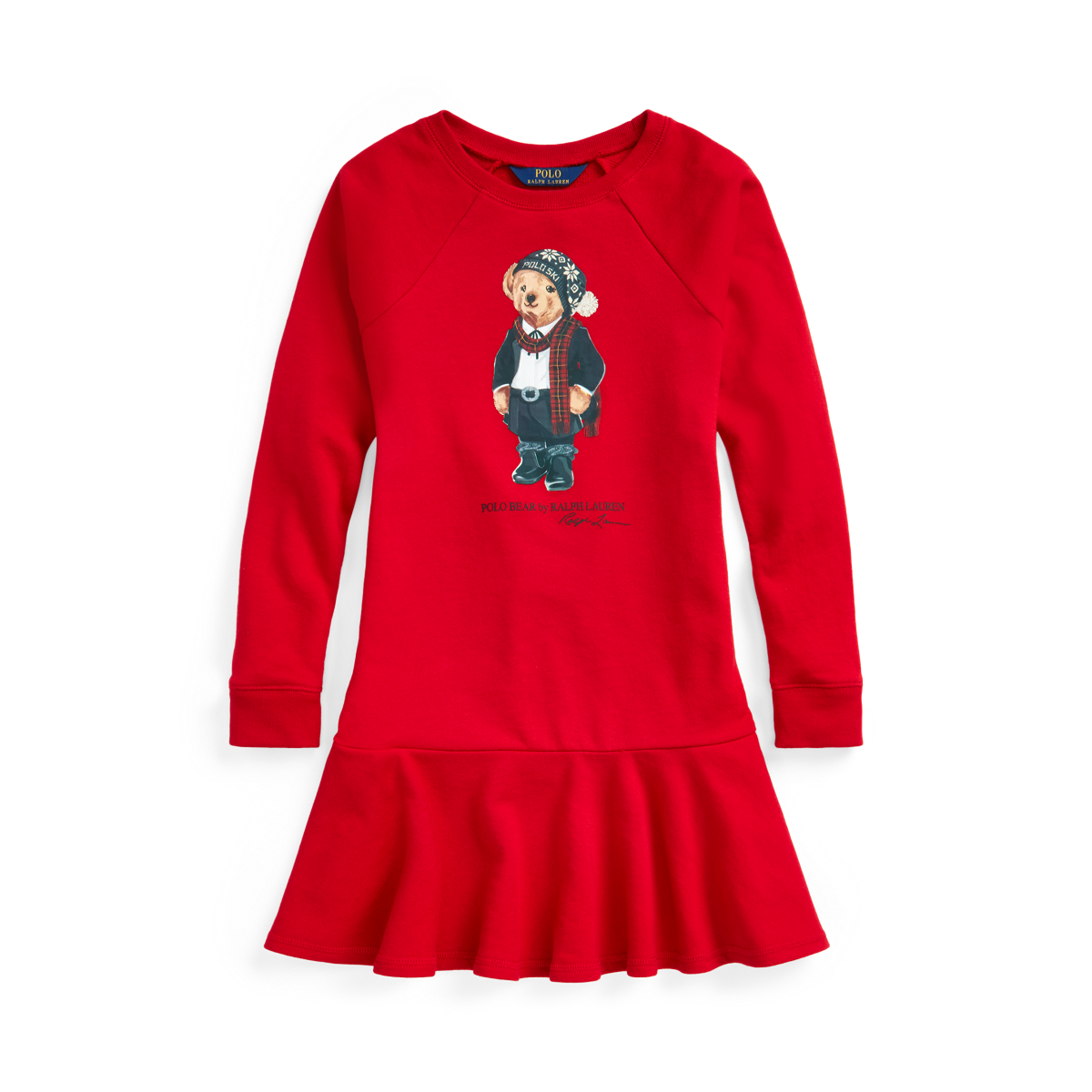 Polo Bear French Terry Dress