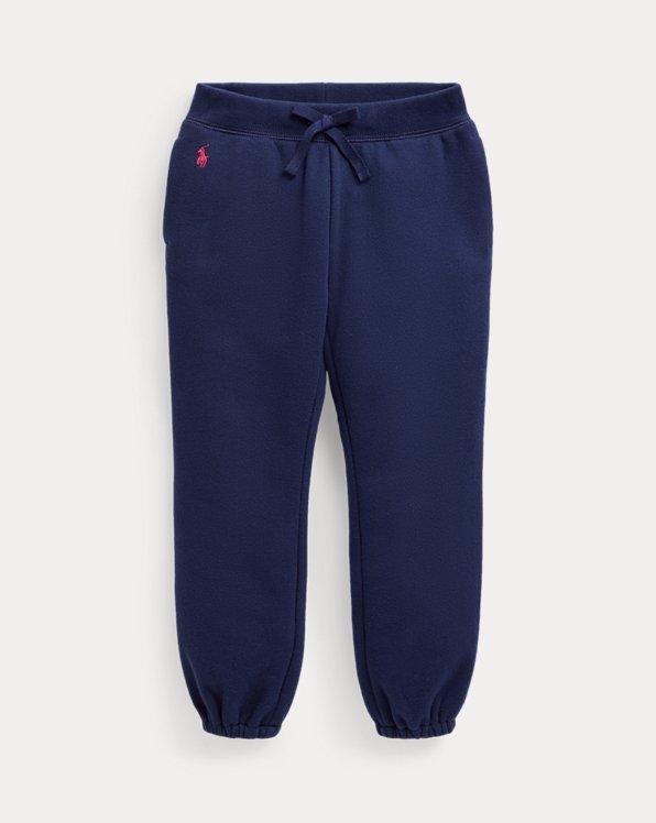 Pantalón jogger de algodón y felpa