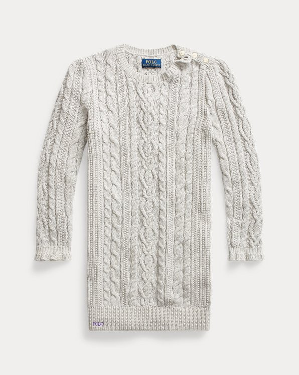Pulloverkleid aus Baumwolle