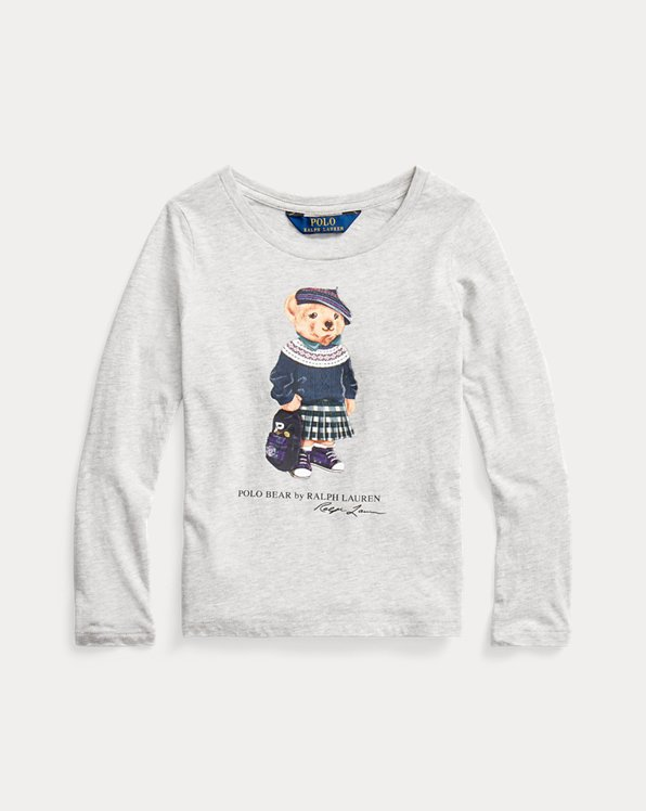 Backpack Bear Cotton Jersey T-shirt