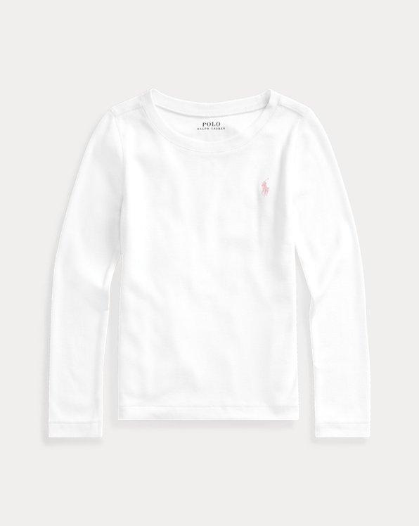 Langarm-T-Shirt mit Baumwolle