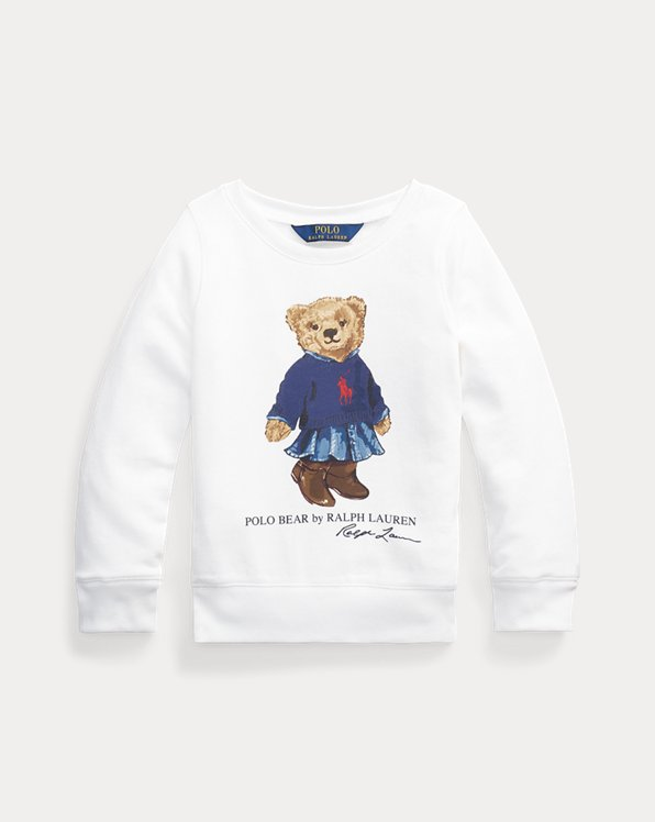 Skirt Bear French Terry Sweatshirt