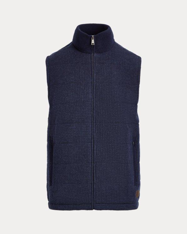 Wind-Blocking Merino Vest