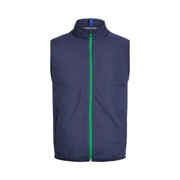 폴로 랄프로렌 남성 골프웨어 Polo Ralph Lauren Water Repellent Mockneck Vest,French Navy