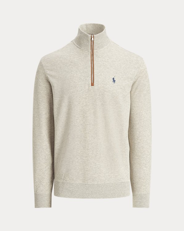 Classic Fit Terry Pullover