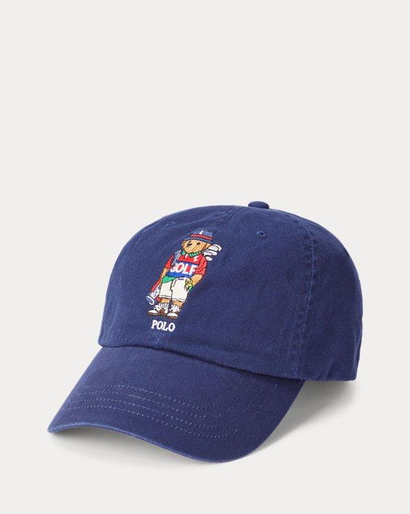 Golf Bear Cotton Cap