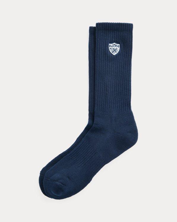 Polo Crest Crew Socks