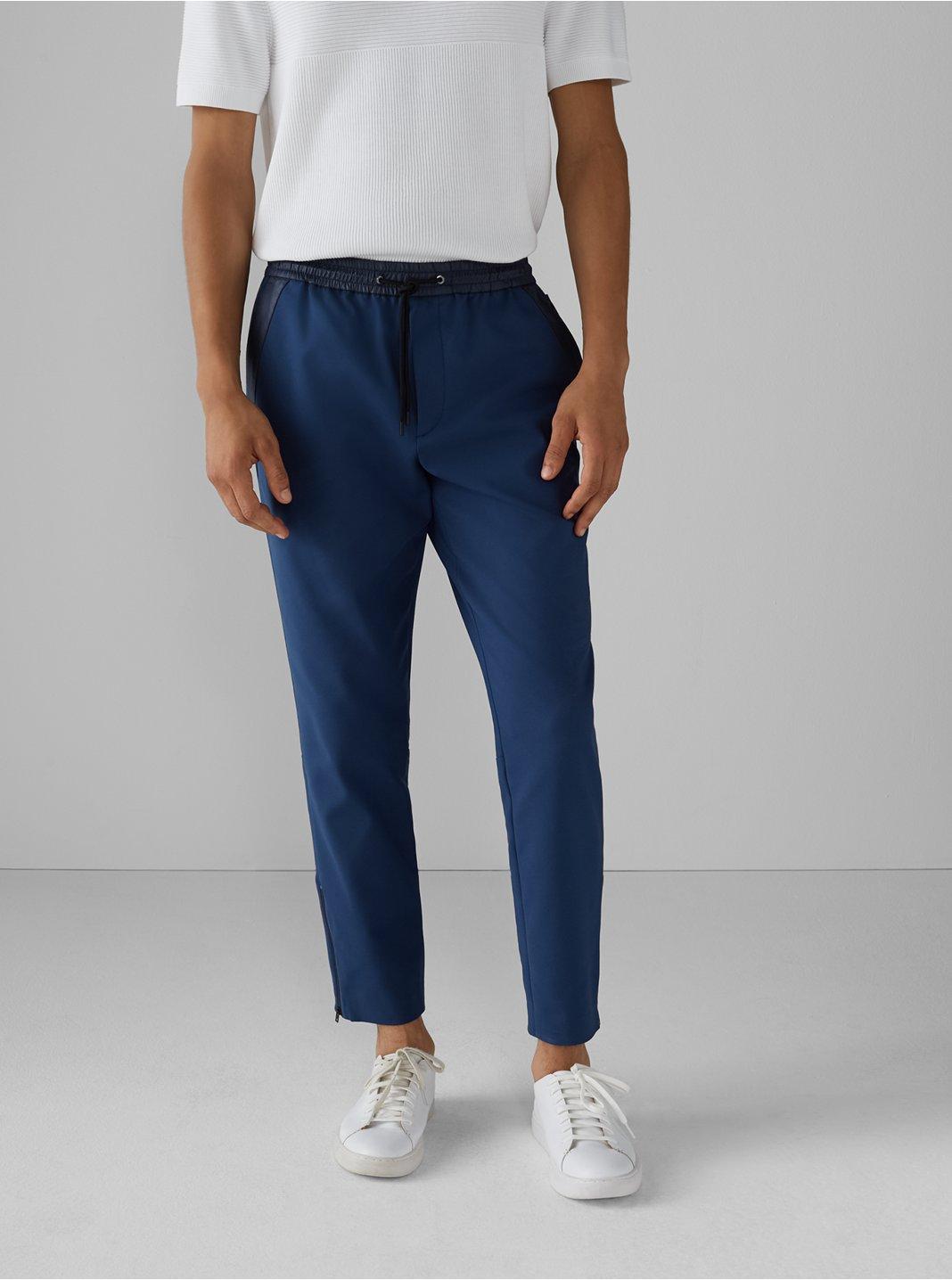 클럽 모나코 맨 팬츠 Club Monaco Refined Jogger Pants,Blue