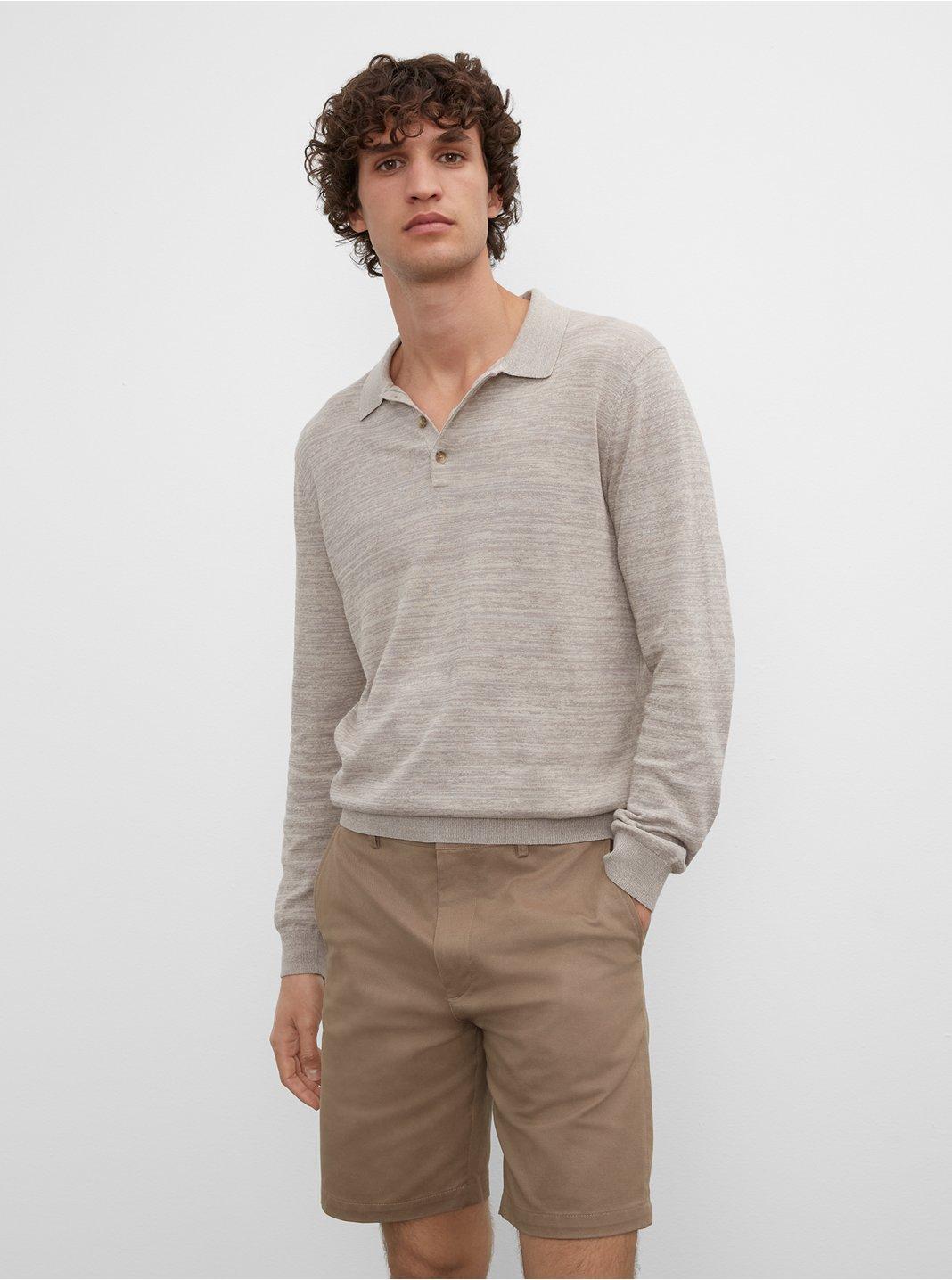 Long Sleeve Summer Polo