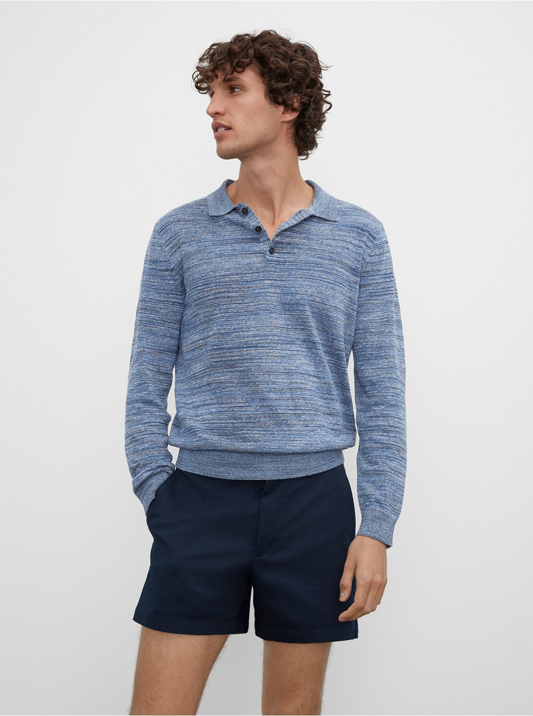 Long Sleeve Summer Polo