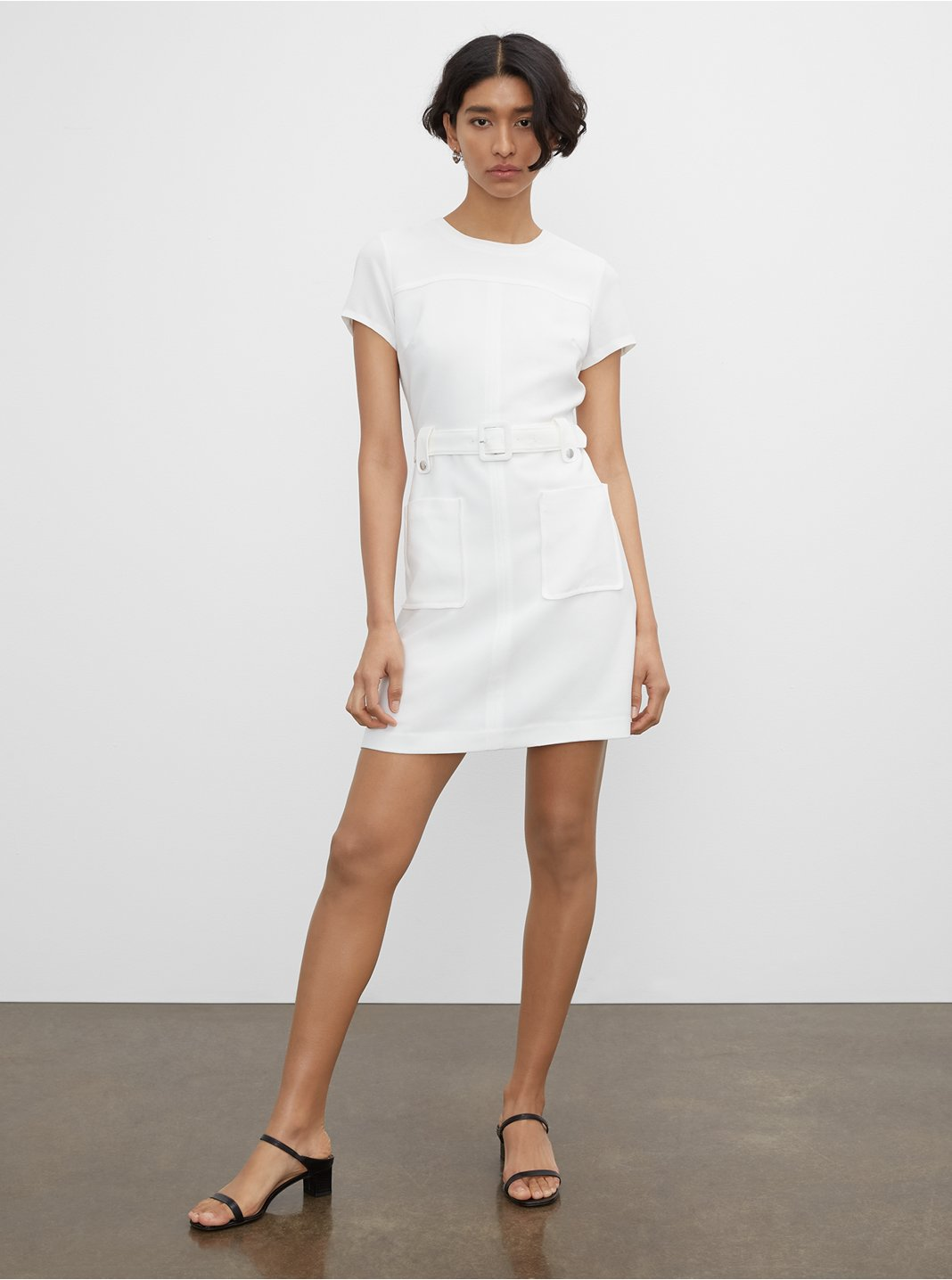 Belted Pocket Dress