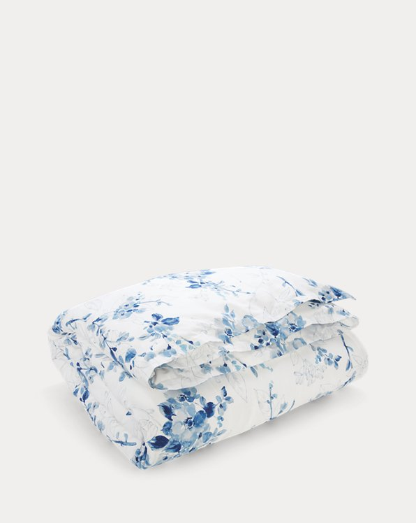 Sandra Floral Percale Comforter Set