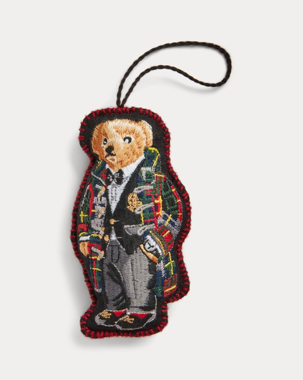 Toggle Coat Polo Bear Ornament