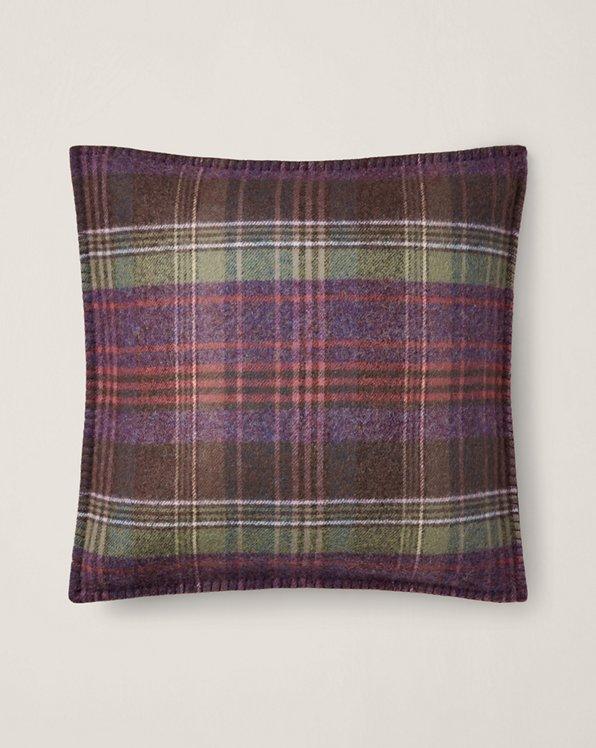 Coussin Platsfield à motif écossais