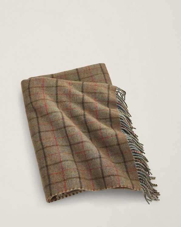 Grosvner Plaid Throw Blanket