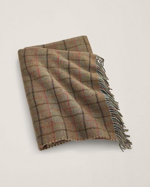 Grosvner Plaid Throw Blanket