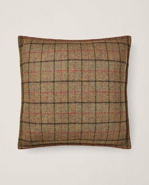 Grosvner Plaid Throw Pillow