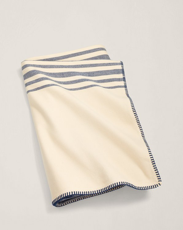 Waltham Striped Bed Blanket